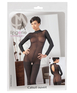 Mandy Mystery Lingerie Long-sleeved Catsuit