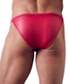 Svenjoyment red matte look bikini briefs