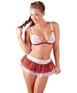 Cottelli Collection schoolgirl erotic 3-piece set
