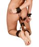 Bad Kitty Hogtie bondage cuffs and cross