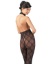 Mandy Mystery Lingerie black lace catsuit