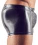Svenjoyment black matte look boxer briefs with metal cock ring