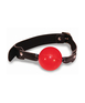 S&M Solid red ball gag