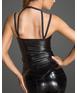 Noir Handmade melns matēta auduma krekliņš