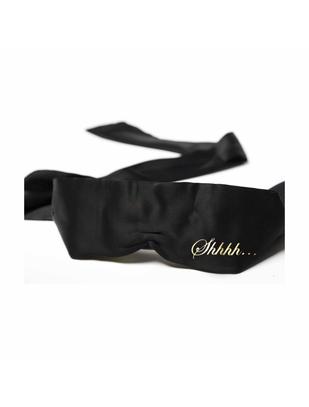 Bijoux Indiscrets black satin blindfold