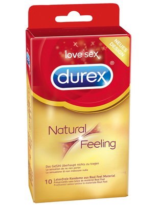 Durex Natural Feeling (10 vnt.)