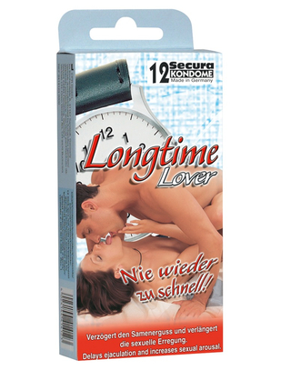 Secura Longtime Lover (3 / 12 pcs)