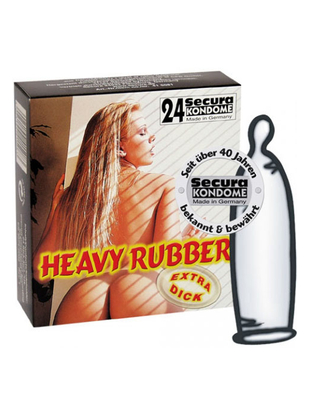 Secura Heavy Rubber (24 tk.)