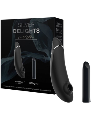 Womanizer Premium & We-Vibe Tango Silver Delights
