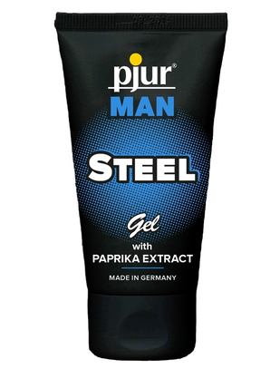 pjur Man Steel Intimate Massage Gel (50 ml)