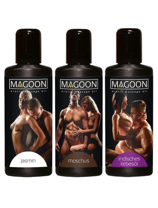 Magoon massage oil set (3 x 50 ml)