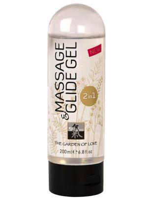 Shiatsu masāžas gels lubrikants (200 ml)