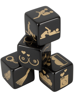 OV sex dice set