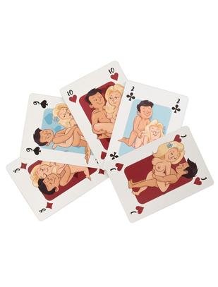OV Comic Kama Sutra Playing Cards