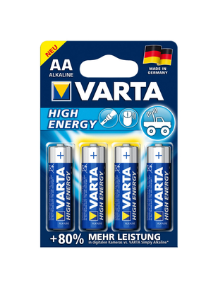 Varta AA batteries (4 pcs)