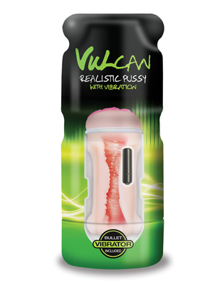 Vulcan Realistic Stroker With Vibration