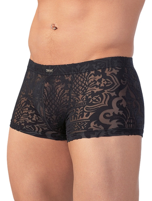 Svenjoyment black devoré style trunks