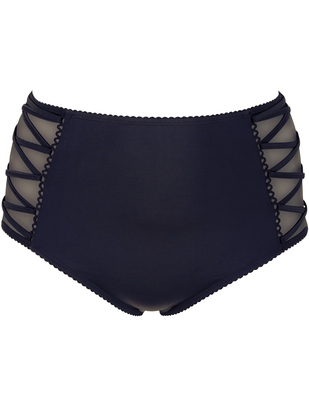 Cottelli Collection black high waist briefs
