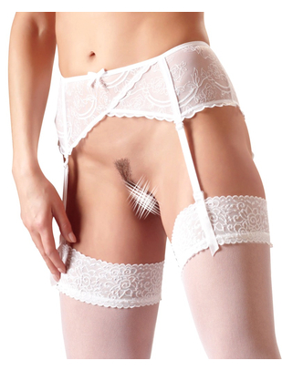 Cottelli Collection Basic Suspender Belt