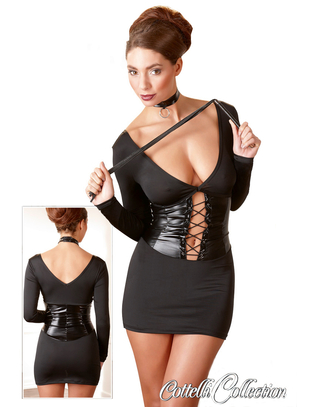 Cottelli Collection Dominatrix Dress