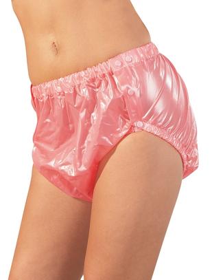 Fetish Collection rozā PVC biksītes