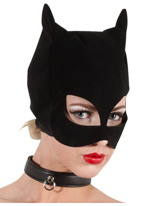 Bad Kitty black cat mask