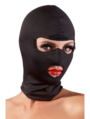 Fetish Collection black hood mask with blindfold