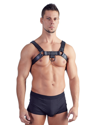 Bad Kitty black chest harness