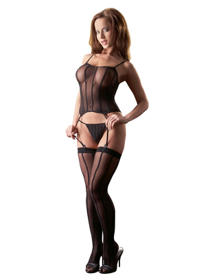 Mandy Mystery Lingerie Basque Set