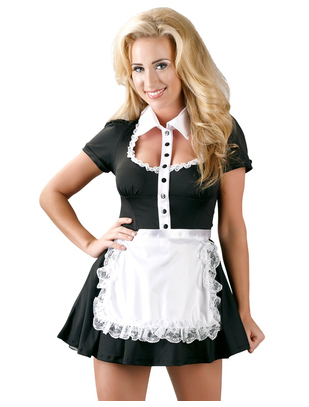 Cottelli Collection maid erotic mini dress