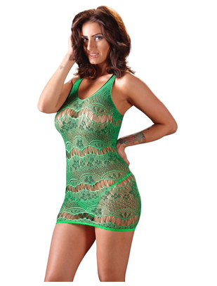 Mandy Mystery Lingerie Net Dress
