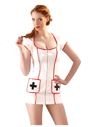 Black Level Vinyl Dress Nurse