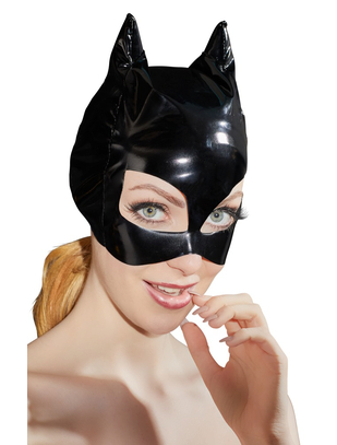 Black Level black vinyl cat mask