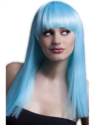 Fever Neon aqua wig