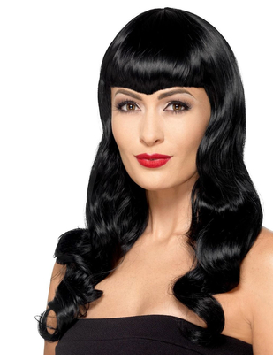 Fever Deluxe black wig