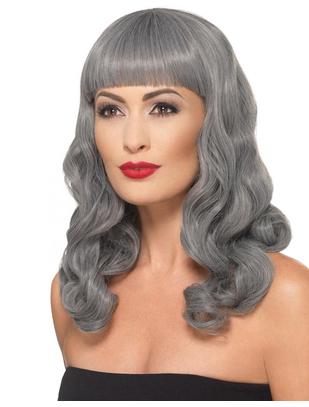 Fever Deluxe grey wig