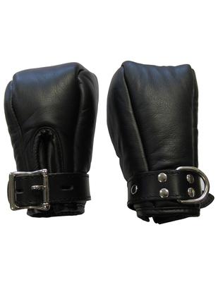 Mister B кожаные перчатки для связывания