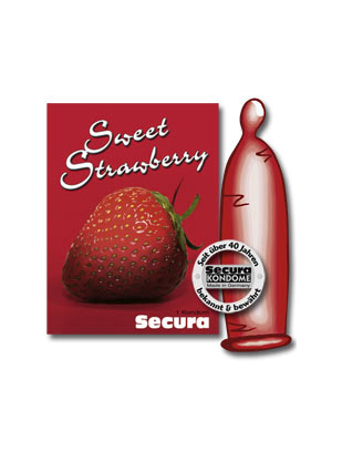 Secura Sweet Strawberry (1 шт.)