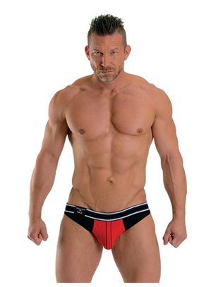 Mister B Manhattan red jockstrap