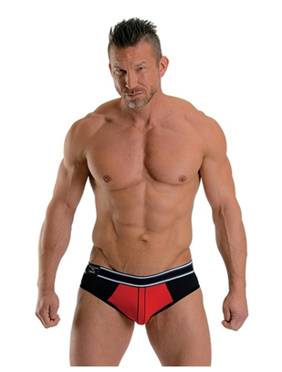 Mister B Soho red jock brief