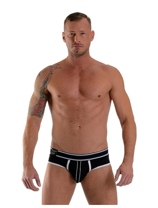 Mister B Bronx black briefs