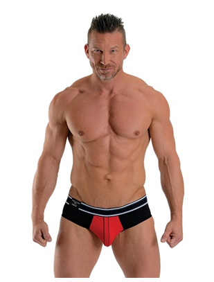 Mister B Bronx red briefs