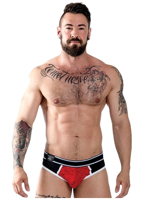 Mister B URBAN SoMa Jock Brief Red