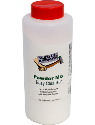 Sledge Hammer Powder Mix Easy Cleanser lubrikantu notīrītājs (354 ml)
