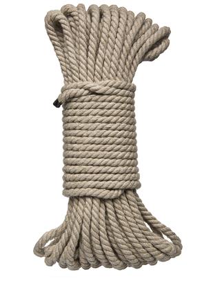 Kink пеньковая веревка для бондажа (9 / 15 м)