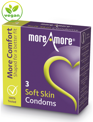 MoreAmore Soft Skin (3 / 12 tk.)