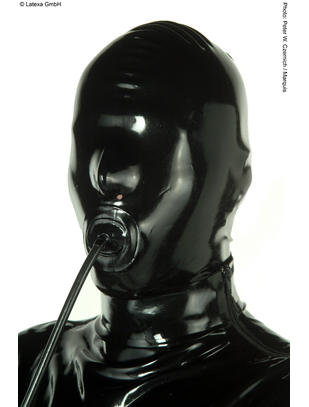 Latexa Mask with Zipper