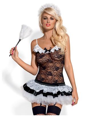 Obsessive housemaid costume