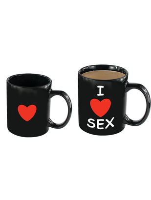 Spencer & Fleetwood I Love Sex mug