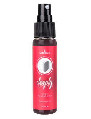 Sensuva Deeply Love You lõõgastav spray kaelalihastele (30 ml)